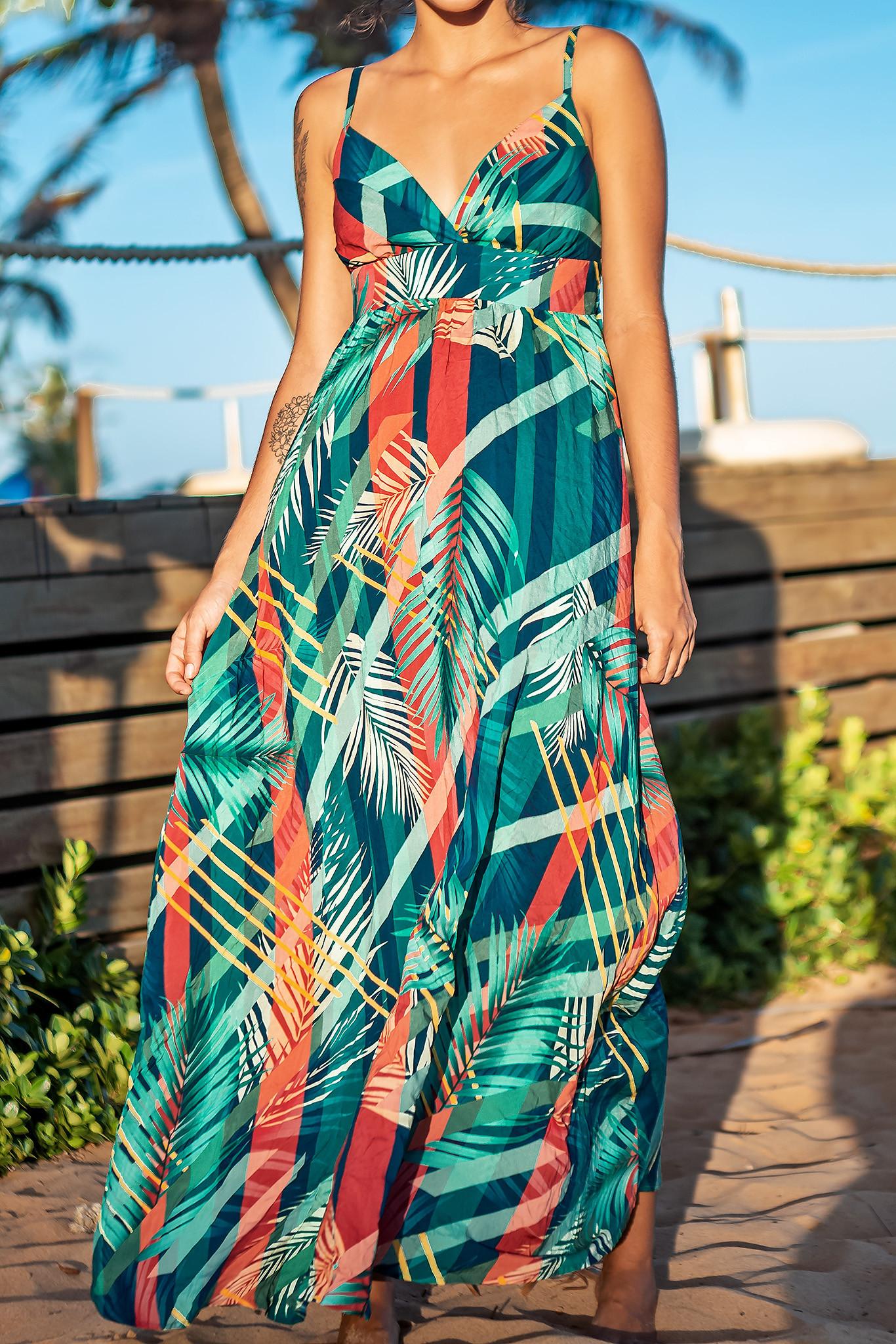 Vestido Listra Palm